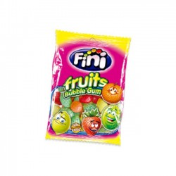 FINI - FRUITS BUBBLE GUM - 100g